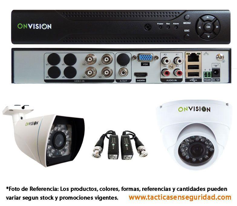 Combo #1 CCTV AHD Alta Definicion Colombia