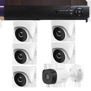 Combo #3 CCTV AHD Alta Definicion Colombia